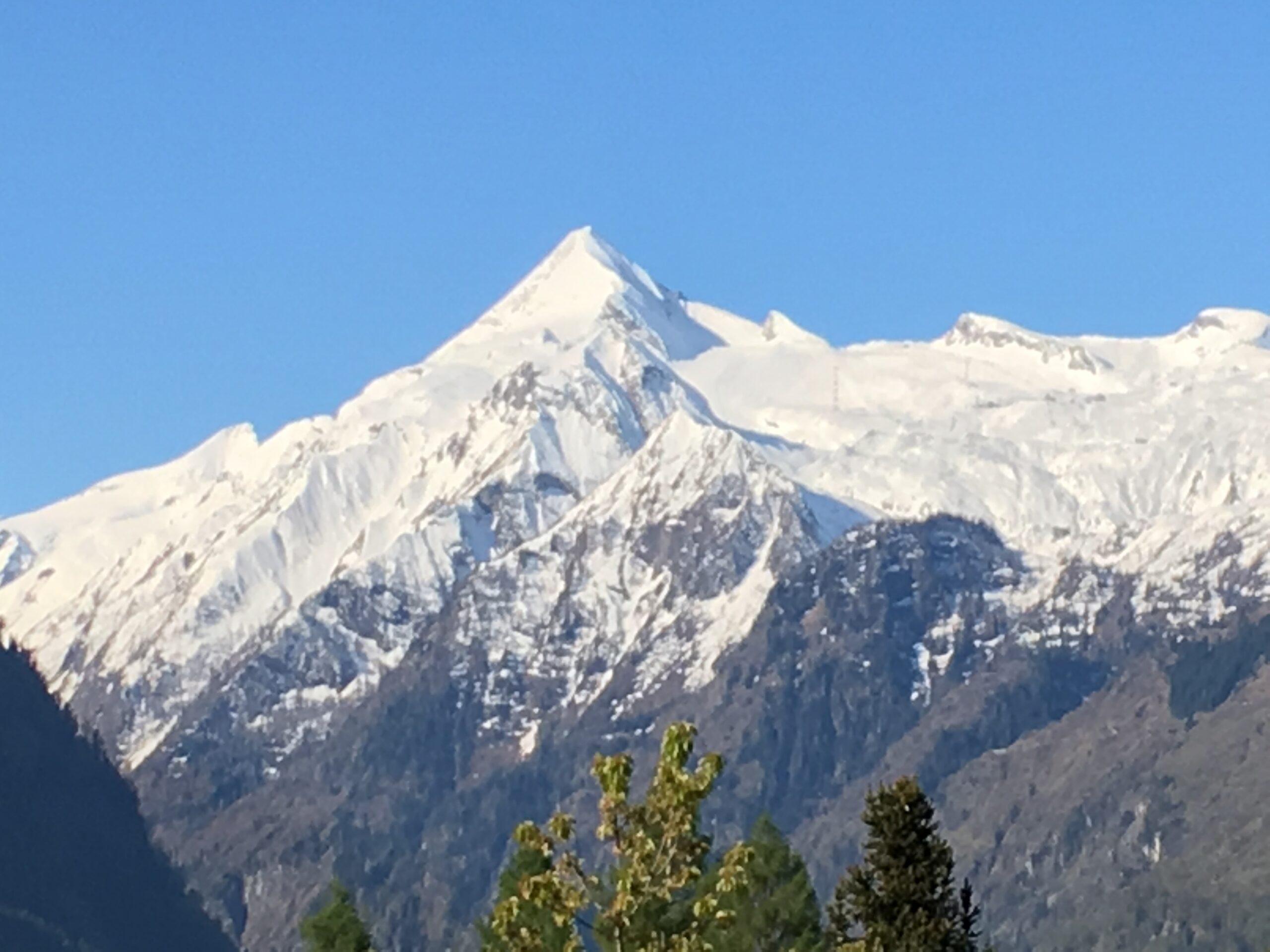 Kitzsteinhorn Gletscher, bereit für den Riesenslalom